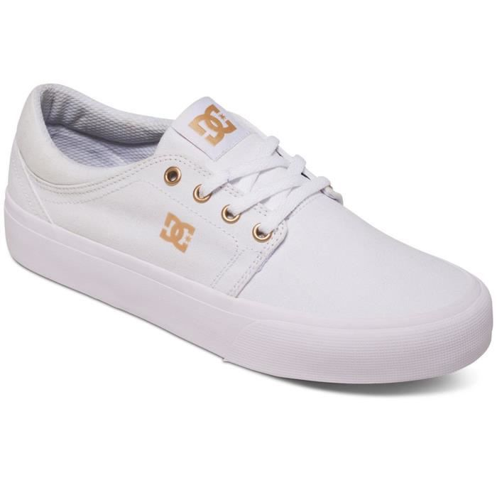 DC SHOES Trase Tx Chaussure Femme - Taille 42 - BLANC