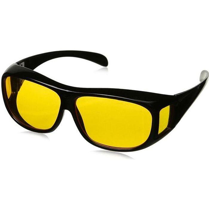 Lunettes verres jaunes - Achat   Vente pas cher 99053e5b97be