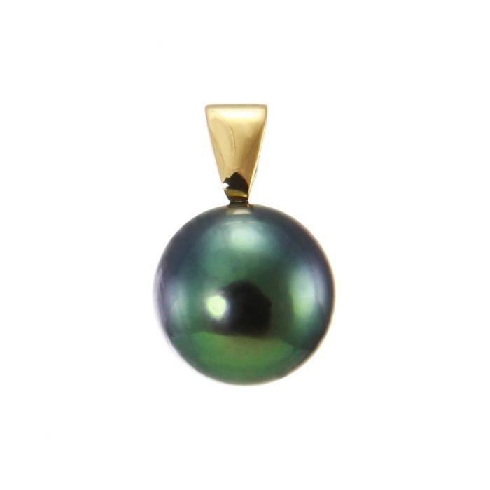 Pendentif Or 750 Perle ref 45585 Blanc