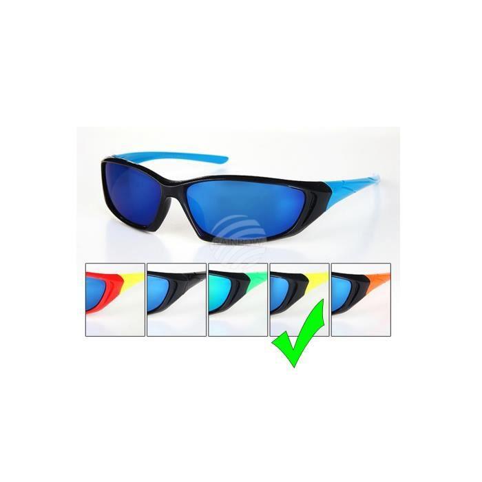 Lunette de soleil VIPER Sport - Chrome reflet miroir - VS-320 (Rouge) SoFgyKLe
