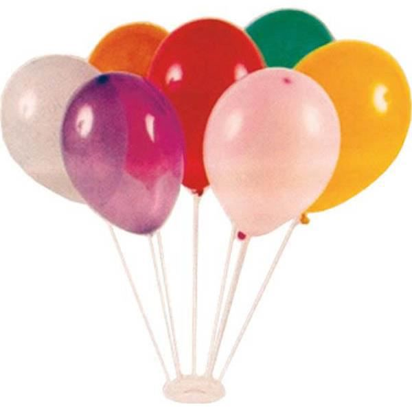 socle 7 tiges pour de ballons avec ballons achat. Black Bedroom Furniture Sets. Home Design Ideas