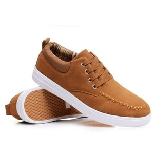 4124fd9178497 128-Jaune-44 Chaussures Luxe2017 Mode Chaussure Homme respirantant  L automne Toile Basket