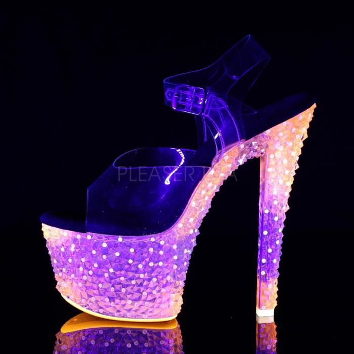 Pleaser Pleaser Femme 308PS CRYSTALIZE CRYSTALIZE 6qTCUO