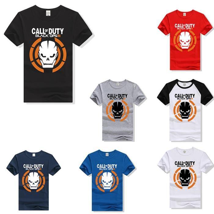 12 Coton Coupe Ops shirt Of De Cintrée En Du À Femme T Marque Cs Call Duty Courtes Manches Jeu Cod Autour CXwZqHgq