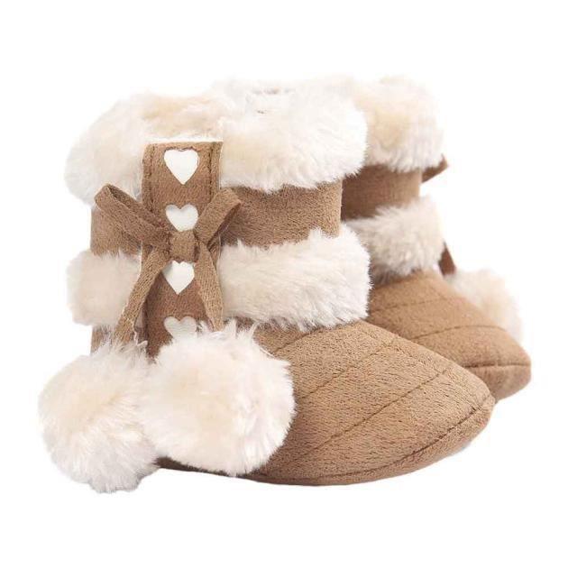 molles neige kaki tout Bottes molles de bébés bottes semelles pour petits RYqqUOp5Wf