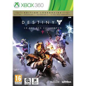 JEU XBOX 360 Destiny : le Roi des Corrompus Edition Légendaire