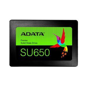 DISQUE DUR SSD ADATA Ultimate SU650, 240 Go, 2.5