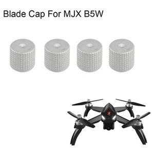 DRONE 4pcs en aluminium Moteur Cap lame Cap pour MJX B5W