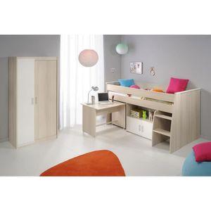 lit combine fille achat vente jeux et jouets pas chers. Black Bedroom Furniture Sets. Home Design Ideas