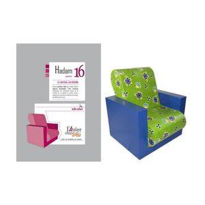 FAUTEUIL Patron de meuble en carton - Fauteuil en carton Ha