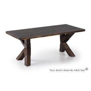 Table basse bois industriel achat vente pas cher for Table basse loft industriel