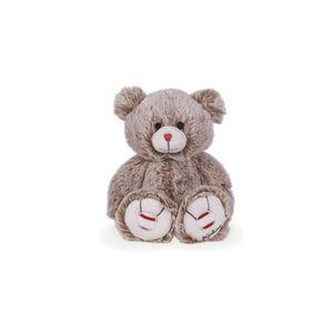 10 x CRÈME OURS en peluche en forme de boutons ~ 26 L Craft//Bébés environ 15 mm