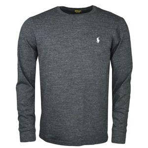 T shirt manche longue ralph lauren homme - Achat   Vente pas cher 6b68ca55c032