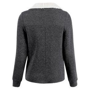 Manteau femme gris - Achat   Vente Manteau femme gris pas cher ... a973c9072c6e
