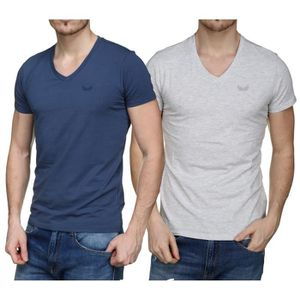 abe15adeee2c7 T-shirt Col v homme - Achat   Vente T-shirt Col v Homme pas cher ...