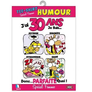Anniversaire 30 Ans Humoristique Achat Vente Pas Cher