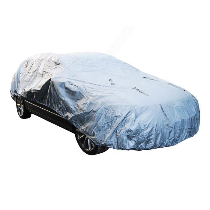 Housse de protection hivernale universelle auto - Argent