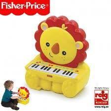 FISHER PRICE Piano électronique Lion