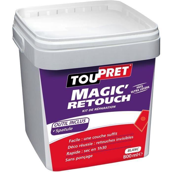 TOUPRET Enduit Magic'Rebouch avec spatule 800 ml