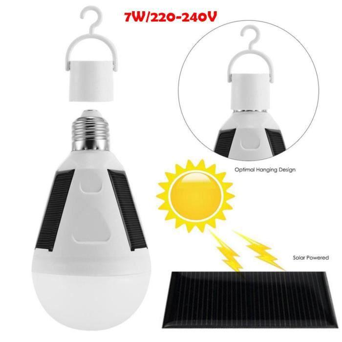 Lampe solaire rechargeable - Achat / Vente pas cher