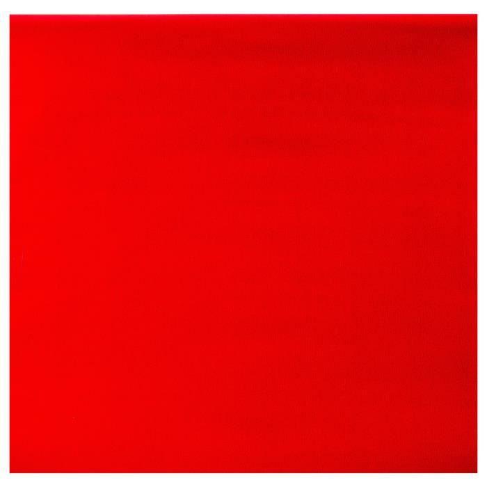 PAPIER CADEAU Papier cadeau - 200 x 70 cm. - Rouge