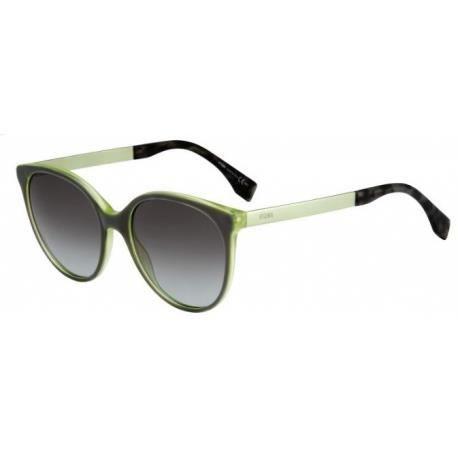 Achetez Lunettes de soleil Fendi Femme FF 0078 S E0I (N6) vert olive ... 601502dfb62