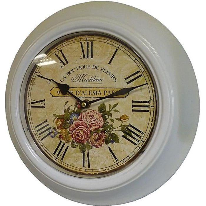 horloge murale chiffre romain achat vente horloge murale