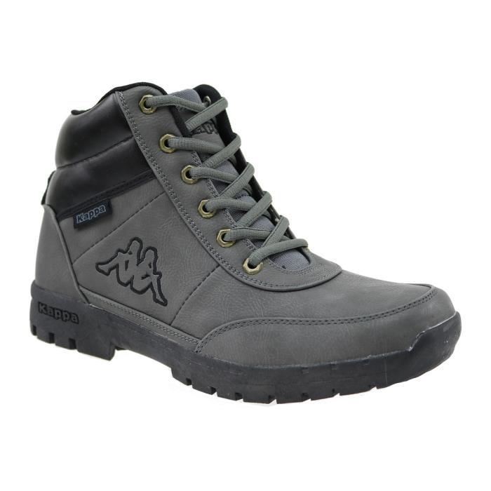 Kappa Bright Mid Light 242075-1616 Homme Botte Gris