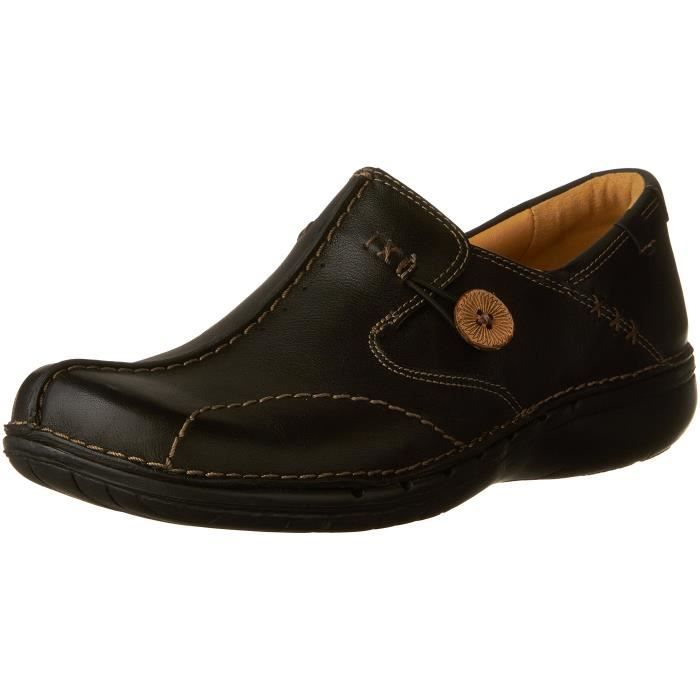 Clarks Unstructured Un.loop Slip on chaussures 3MM5Y2 Taille 36