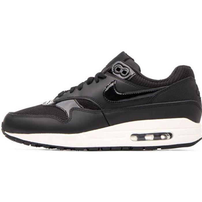 Nouveaux produits 9d06e 0ef52 Basket Nike AIR MAX 1 - Ref. 319986-039 Noir Noir - Achat ...