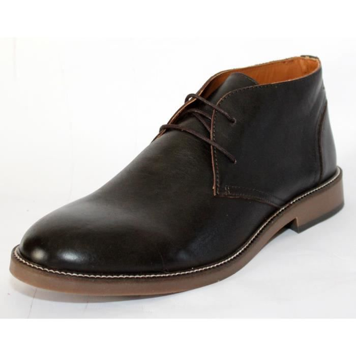 CUIR BOTTES CHAUSSURES HOMME BOTTES 44 CUIR NEUVES MODE T xfwFKq