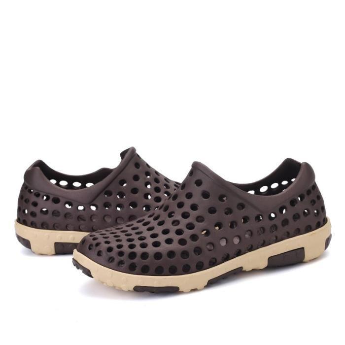 Korean Mode Chaussures de plage antidérapants hommes
