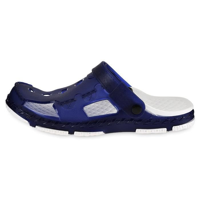 Trou Casual Male design Jelly Couleur Chaussons