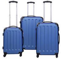 SET DE VALISES Set de 3 Valises de voyage trolley avec roulettes
