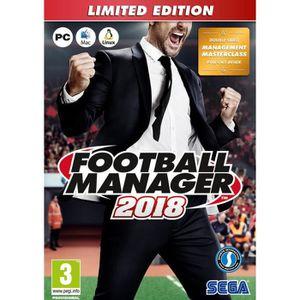 JEU PC Football Manager 2018 Edition Limitée Jeu PC
