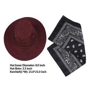brand new bae59 47a5d chapeau-cowboy-homme-femme-adulte-en-feutre-foular.jpg