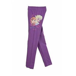 PANTALON Legging fille 4 ans LA REINE DES NEIGES violet