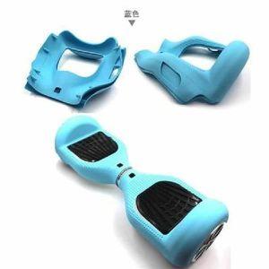 TROTTINETTE ELECTRIQUE Bleu Coque de Protection en Silicone Souple Peau P