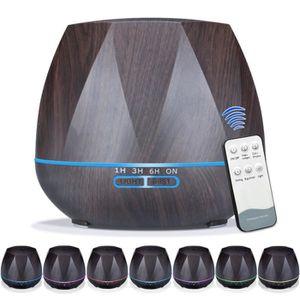 DIFFUSEUR 500ml Diffuseur Huile Essentielle électrique USB,