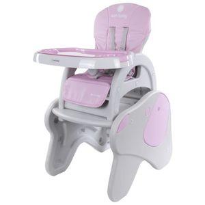 CHAISE HAUTE  LUNA | Chaise haute évolutive 2en1 bébé/enfant | C