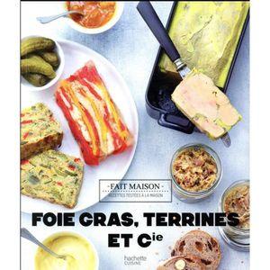 LIVRE CUISINE TRADI Livre - foies gras, terrines et compagnie