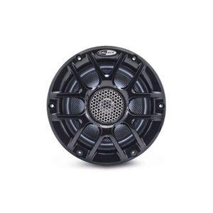 AUTORADIO BATEAU - HAUT-PARLEUR ÉTANCHE CALIBER Haut-parleurs Marine 16cm Noir CSM16RGB/B