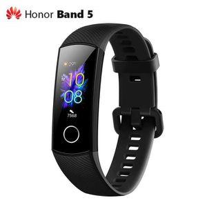 MONTRE CONNECTÉE Huawei Honor Band 5 Montre Intelligente Noir, Trac