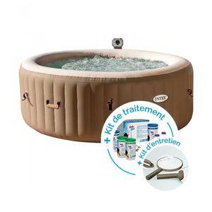 Spa gonflable Intex PureSpa Bulles 4 personnes + Kit d entretien + Kit de  traitement 93c872ac7a0d