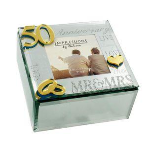 018d850f9c5 BOITE A BIJOUX Juliana Boîte à bijoux miroir 3D mots 50e annivers