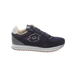 BASKETS S8860NVYDKGRY HOMME BLEU CUIR LOTTO aSIqw5xw