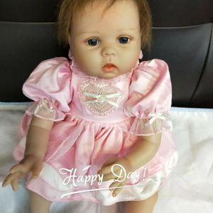 21c657e271112 22 pouces 55 cm Silicone bébé reborn poupées