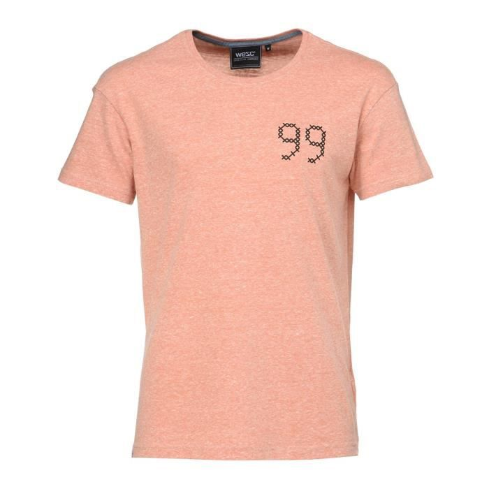 WESC T-shirt Dash Rust - Homme