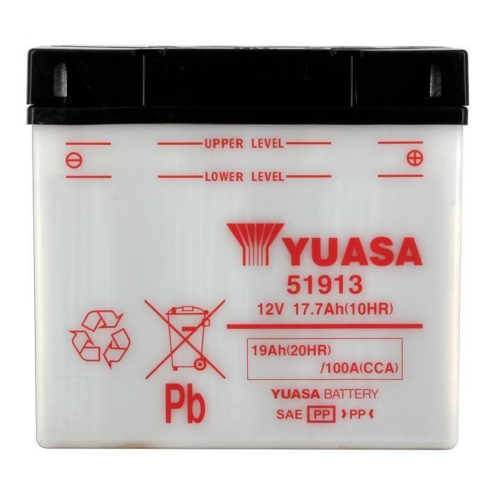 Batterie Yuasa identique à l'origine convient à tous types de 2 roues et quadBATTERIE VEHICULE