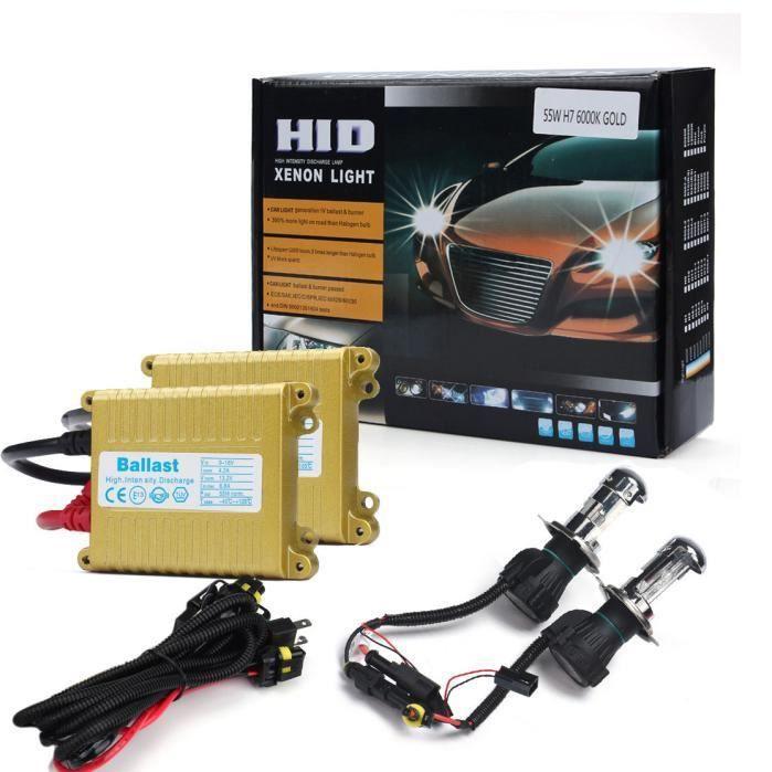 Set Highl 8000k R228 12v Xenon Hid H4 AmpouleBallast Conversion Low 55w Kit Slim 8n0yOmwvN
